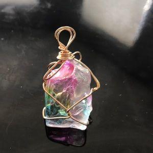 Chakra Crystal Charm
